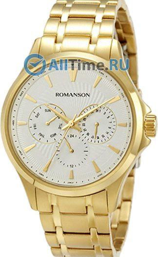 Мужские часы Romanson TM4222FMG(WH)