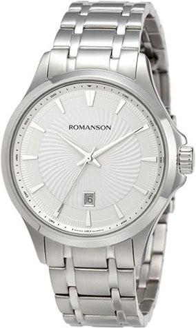 Мужские часы Romanson TM4222MW(WH)
