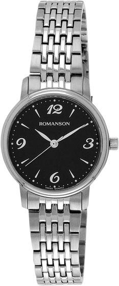 Женские часы Romanson TM4259LW(BK)