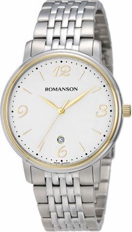 Мужские часы Romanson TM4259MC(WH)
