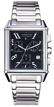 Мужские часы Romanson TM7237HMW(BK)