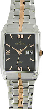 Мужские часы Romanson TM8154CXJ(BK)