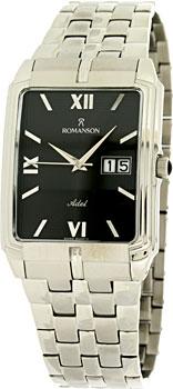 Мужские часы Romanson TM8154CXW(BK)