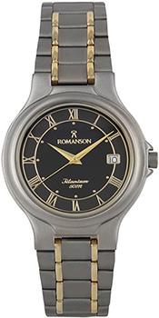 Мужские часы Romanson TM8697MC(BK)