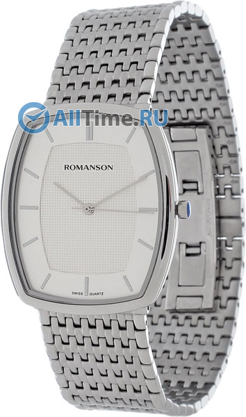 Мужские часы Romanson TM9258MW(WH)