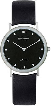 Женские часы Romanson UL0576SLW(BK)