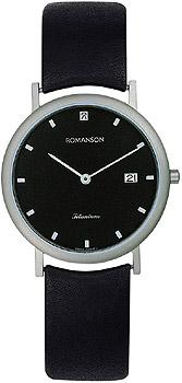 Мужские часы Romanson UL0576SMW(BK)