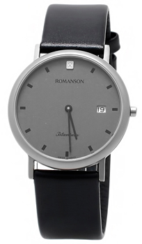 Мужские часы Romanson UL0576SMW(GR)
