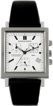 Мужские часы Romanson UL2118SMW(WH)