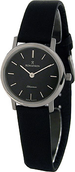 Женские часы Romanson UL3578SLW(BK)
