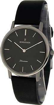 Мужские часы Romanson UL3578SMW(BK)