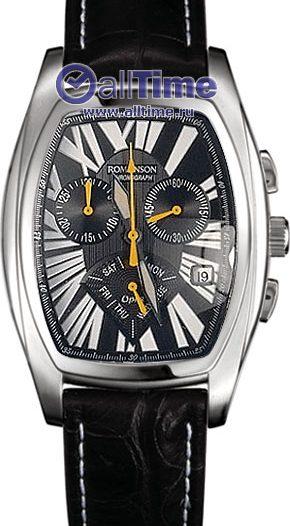 Мужские часы Romanson UL6114HMW(BK)
