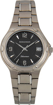 Мужские часы Romanson UM3140MW(BK)